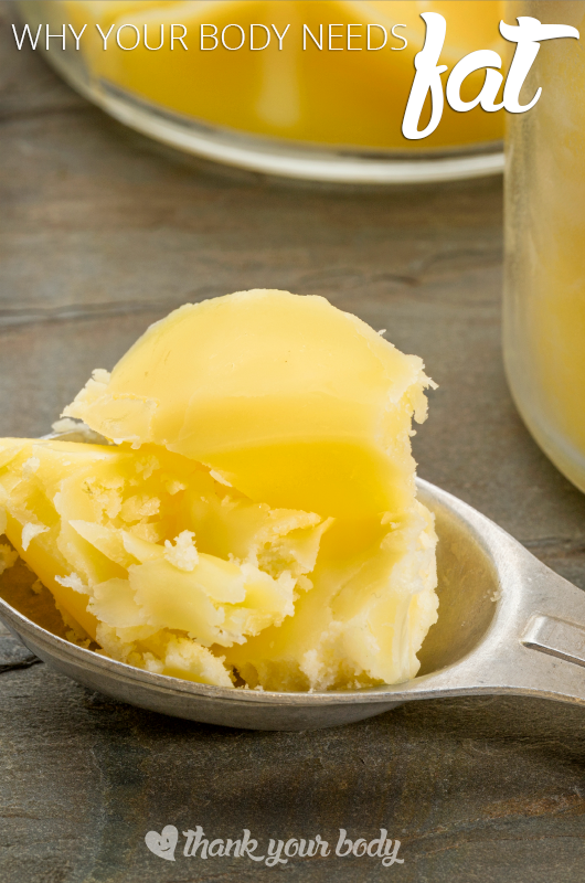 Learn why you body needs fat... and the best kind of fat to eat.
