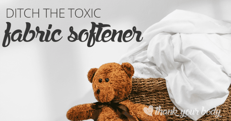 Toxic danger: Why you should ditch your fabric softener