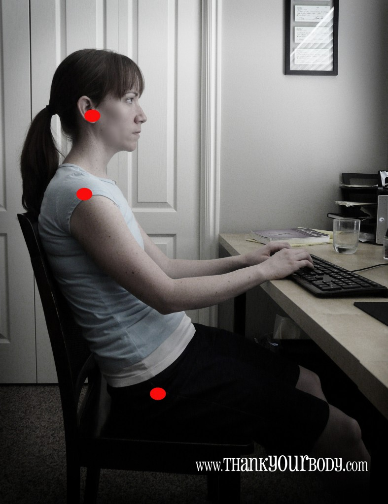 Want some good posture tips? Check out this comprehensive article on the basics of sitting. Improve your posture and reduce back pain. Super important stuff.