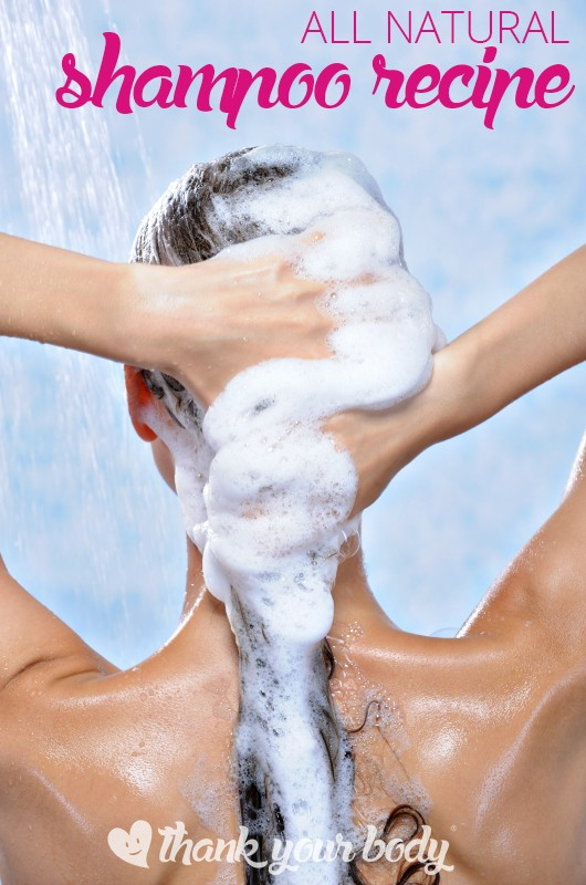 Yes you can make your own all natural shampoo. Much safer and super easy.
