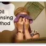 The oil cleansing method: A natural and refreshing way to wash your face.