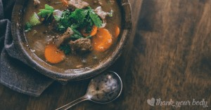 Beef stew is one of the most comforting dishes I know. It's perfect for a chilly day, or whenever you want some nourishing real food.