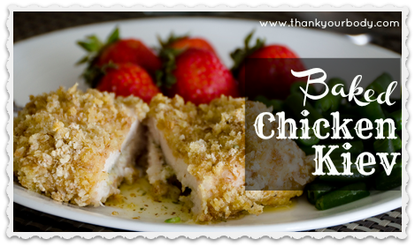Recipe: Baked Chicken Kiev (a buttery feast of goodness!)