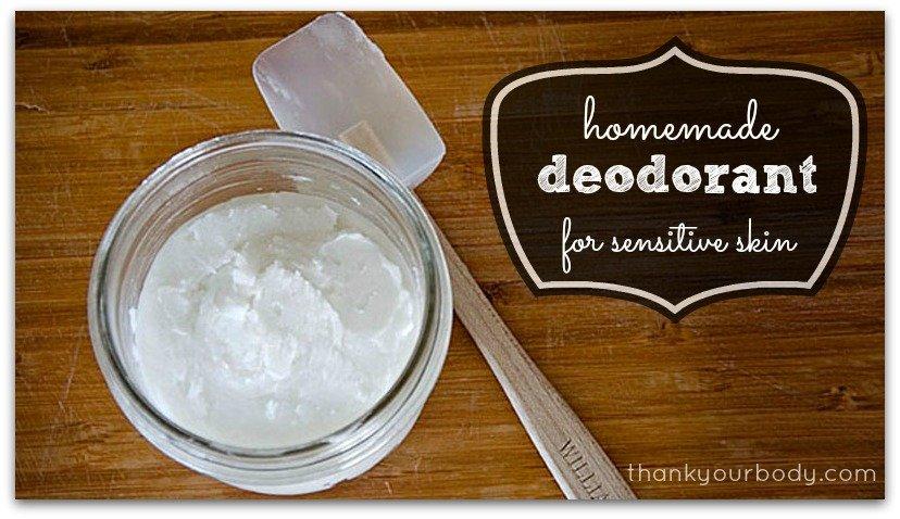 Homemade Deodorant: Make your armpits happy!