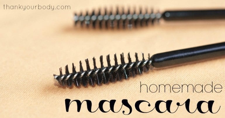 Homemade mascara: All natural and eye friendly