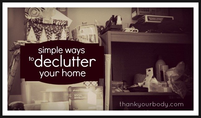 Simple ways to declutter your home for healthier living