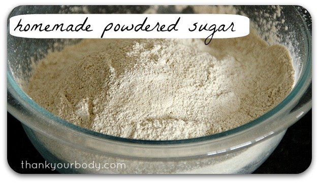 Recipe: Homemade Powdered Sugar