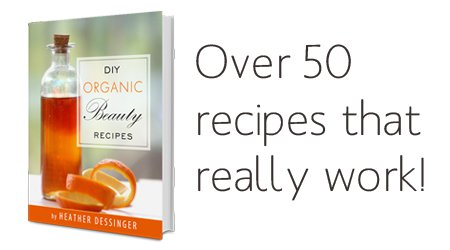 Review: DIY Organic Beauty Recipes ebook