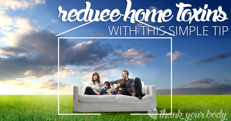 Want to reduce home toxins by 60% Did you know there is a simple solution to do it? One that has a whole bunch of other benefits? Read more!