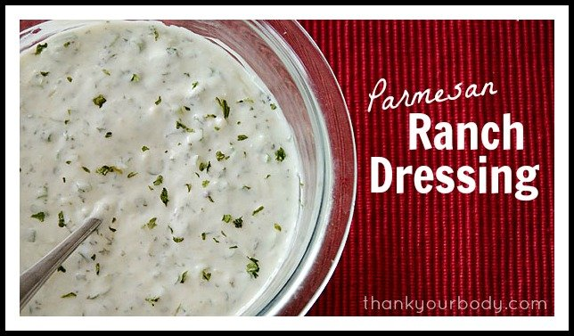 Parmesan Ranch Dressing: Healthy and Delicious!
