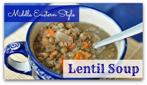 Recipe: Lentil Soup – Middle Eastern Style