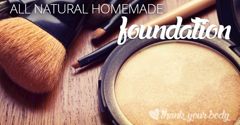 All natural homemade foundation: So easy to make so make your face happy.