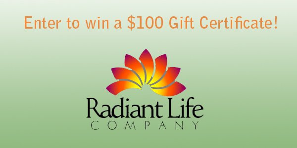 Radiant Life Giveaway Winner Announced