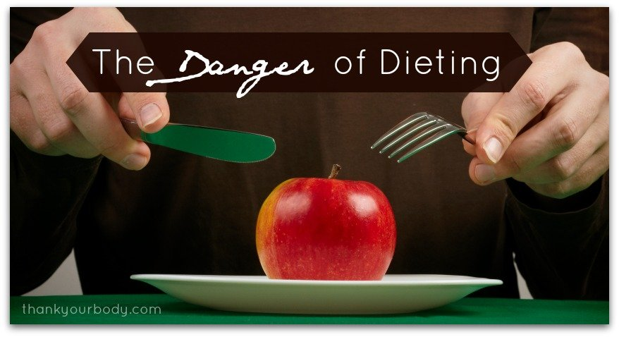 The danger of dieting. Want to lose weight? Learn why you should NOT diet.