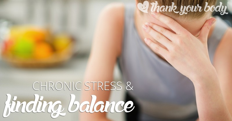 Stress destroys health... at least the chronic type of stress we face in our busy world. Learn how to combat stress and nourish your metabolism.