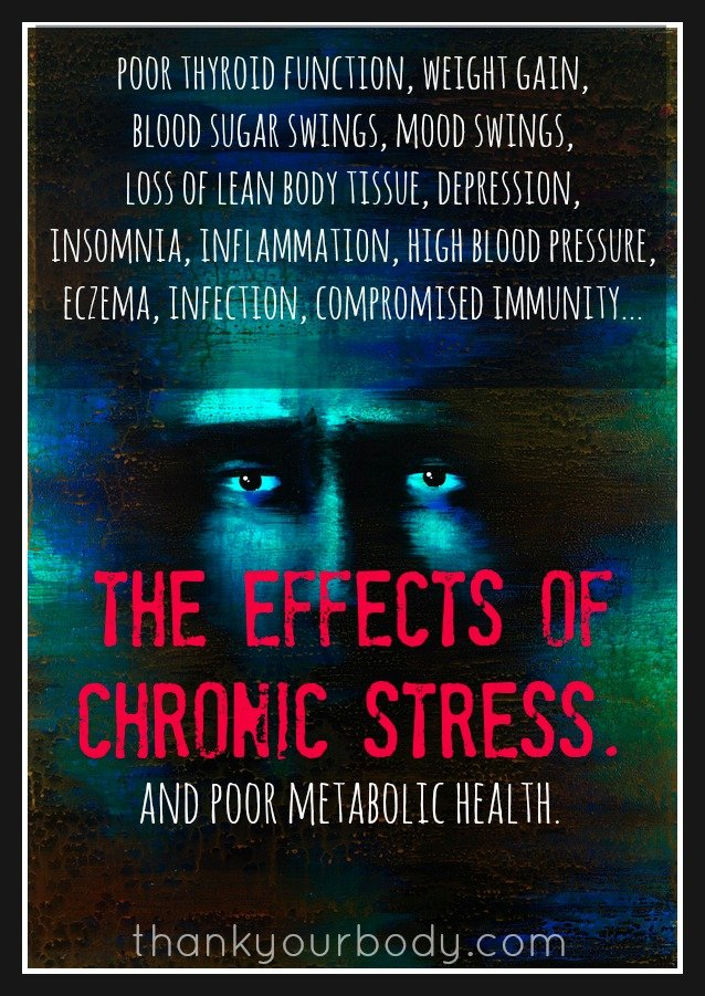 Wow, I never realized chronic stress could be so harmful. I love this article on the importance of nourishing our metabolic health. A must read.