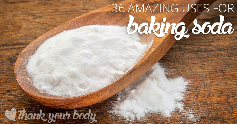 Check out these amazing uses for baking soda. Good stuff.
