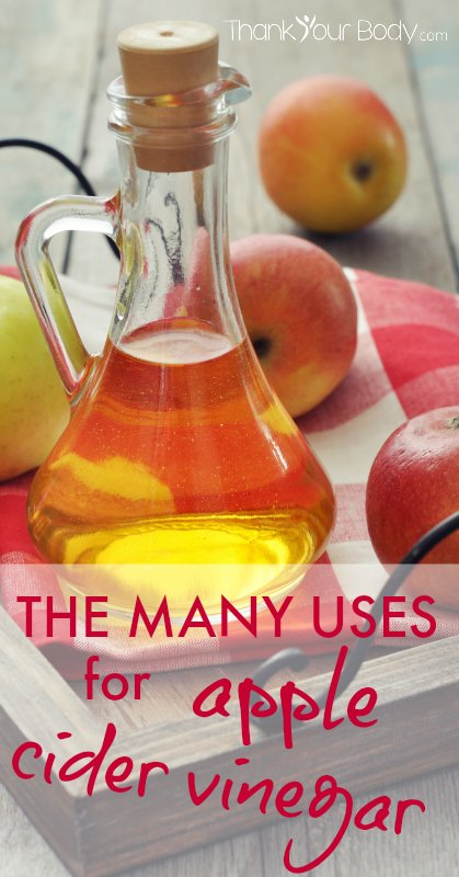 The many uses for Apple Cider Vinegar