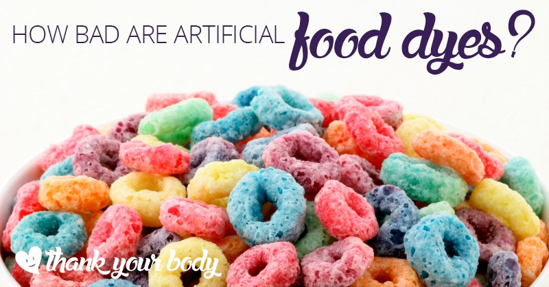 How bad is artificial food coloring? Learn why you may want to think those fruity loops in the morning.