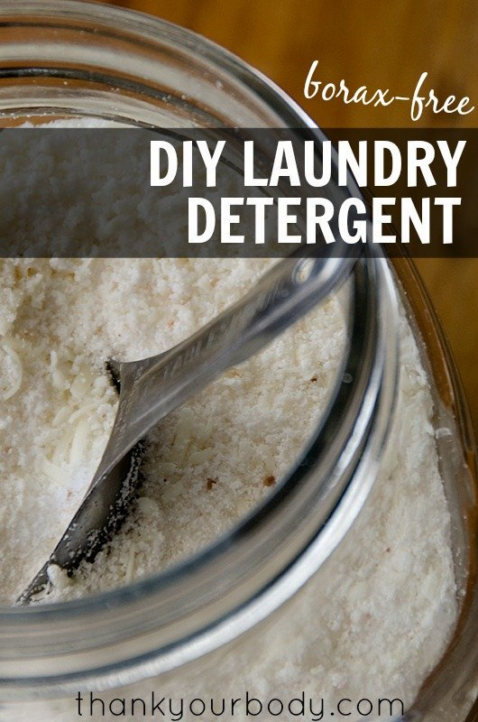 Borax Free Laundry Detergent Recipe