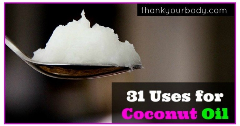 31 Uses for Coconut Oil - this stuff is amazing! www.thankyourbody.com