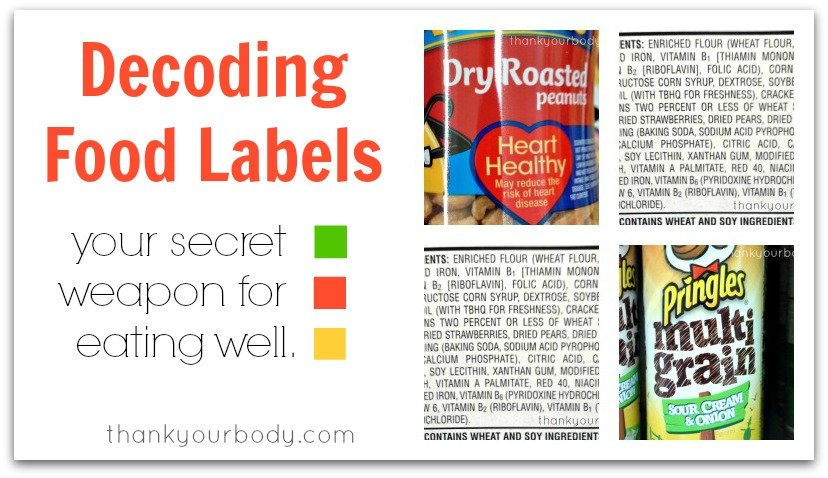 Decoding Food Labels: Read, learn, and play.