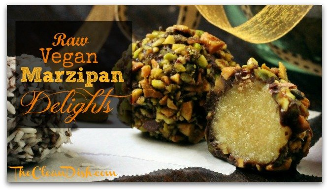 Recipe: Raw Vegan Marzipan Delights