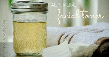 Easy Peasy DIY Natural Facial Toner
