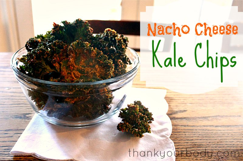 Recipe: Nacho Cheese Kale Chips