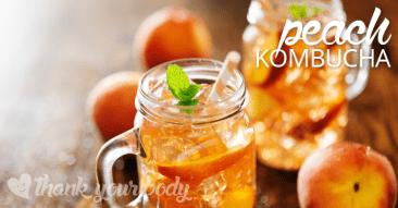 Recipe: Peach Kombucha