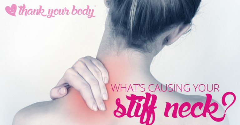 Suffering from a stick neck? Are your shoulders always sore? You may be surprised by the cause and relieved by the simple solution.