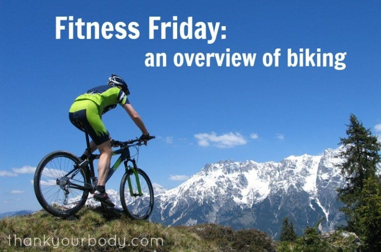 Fitness Friday: An Overview of Biking