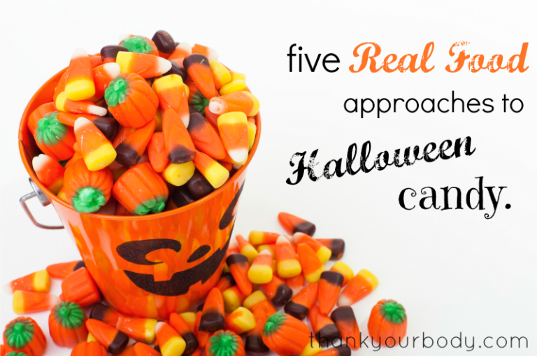 Don't be afraid of Halloween! Here are five healthy approaches to dealing with Halloween Candy.
