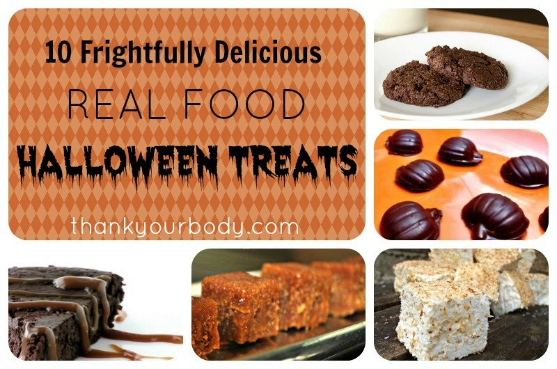 Oh, yes! 10 delicious (and healthy) real food Halloween treats. Perfect.