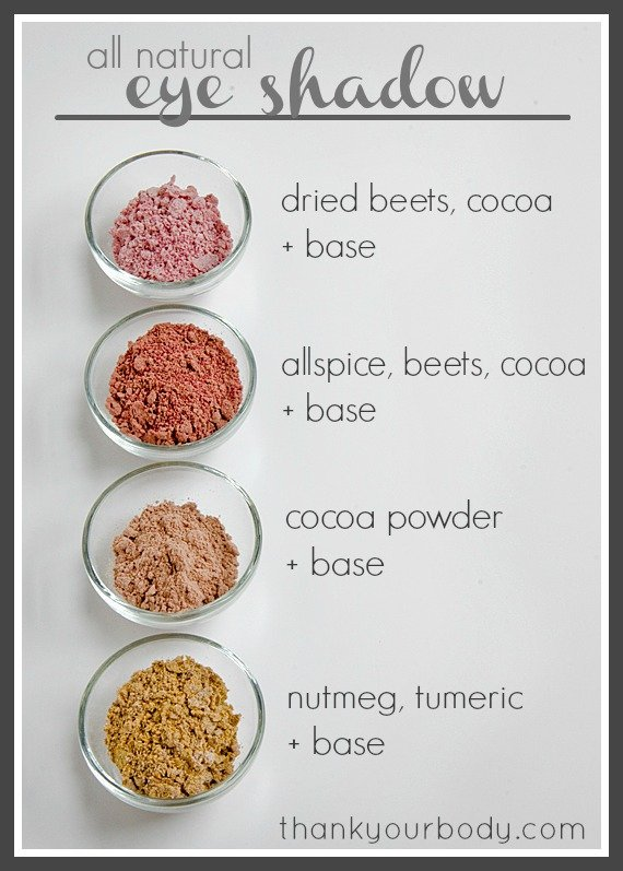 Homemade Natural Makeup Products