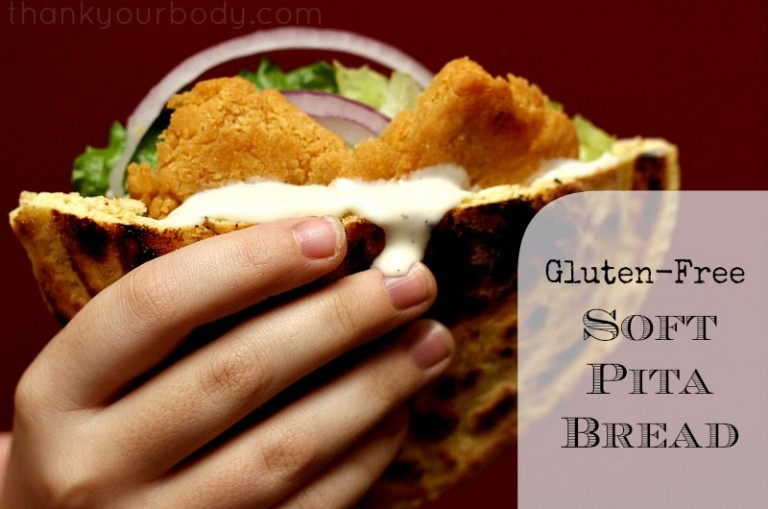Enjoy pita bread again with this easy gluten free recipe!