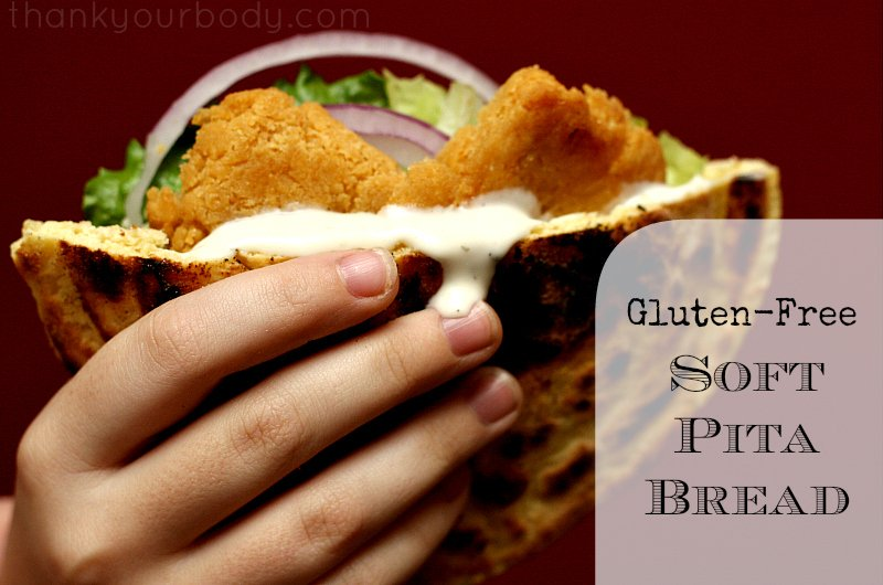 Enjoy pita bread again with this easy gluten free recipe!