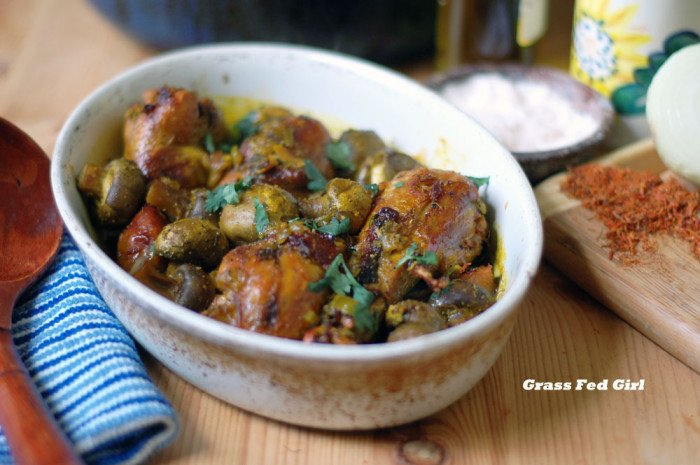 Oh my! Check out this Chicken Truffle Tajine recipe. Must make this soon! www.thankyourbody.com