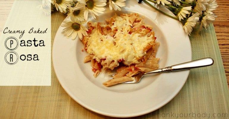 Recipe: Creamy Baked Pasta Rosa