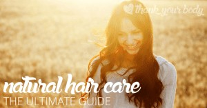 This all natural hair care guide will help troubleshoot any problems you might be having with your natural hair care routines. Lots of good info!