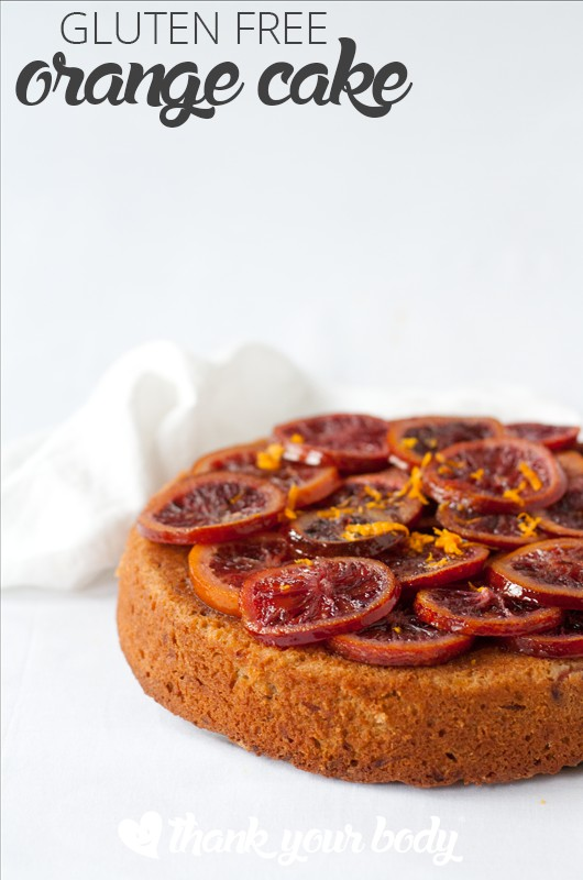 This gluten free whole orange cake is as delicious as it is good for you! Whole oranges pack a punch of vitamin C and add to the moist, rich texture. Yum!