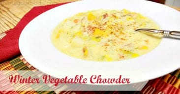 Recipe: Winter Vegetable Chowder