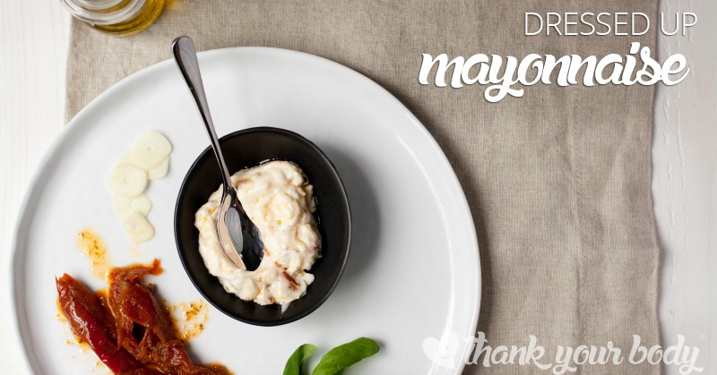 Basil and sun dried tomato, Jalapeno and Chili, or Garlic Aioli...these dressed up mayonnaise spreads are easy to make and spice up any sandwich!
