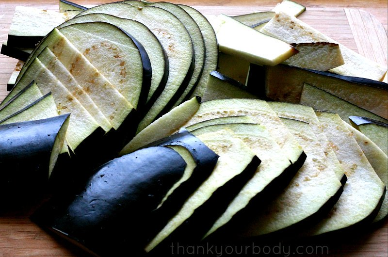 Try this savory eggplant jerky...a yummy vegan alternative to beef jerky!