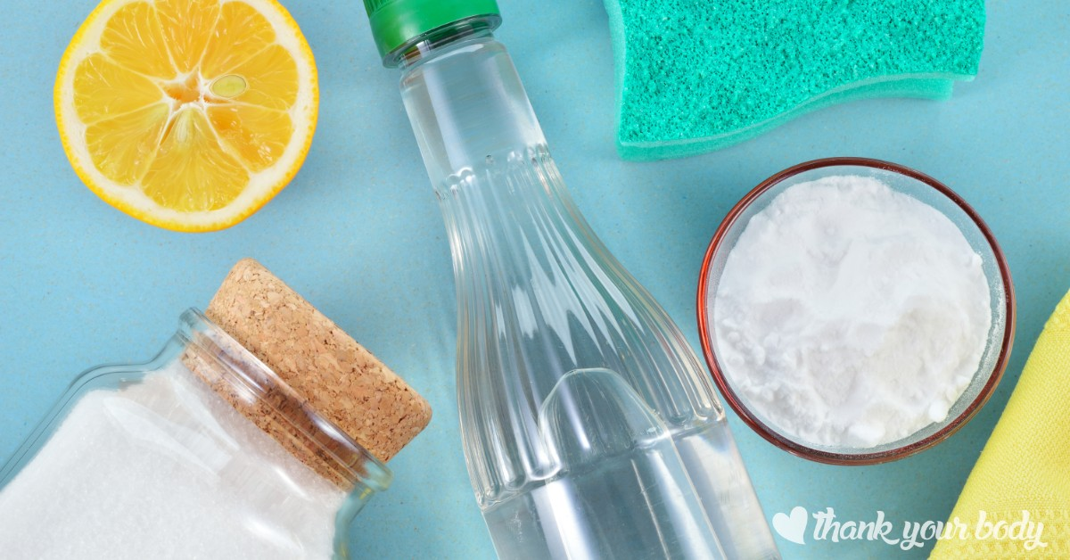 Make an all natural foaming cleaner using non-toxic baking soda, dish soap, essential oil and vinegar. Gets the job done with no chemicals, and it's easy!