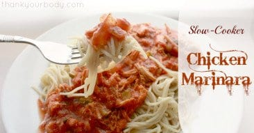 Recipe: Slow Cooker Chicken Marinara