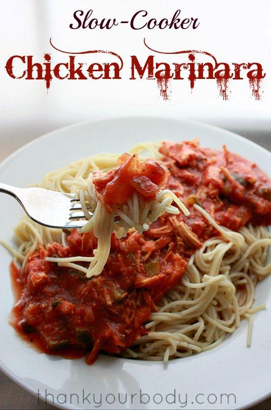 Recipe: Slow Cooker Chicken Marinara