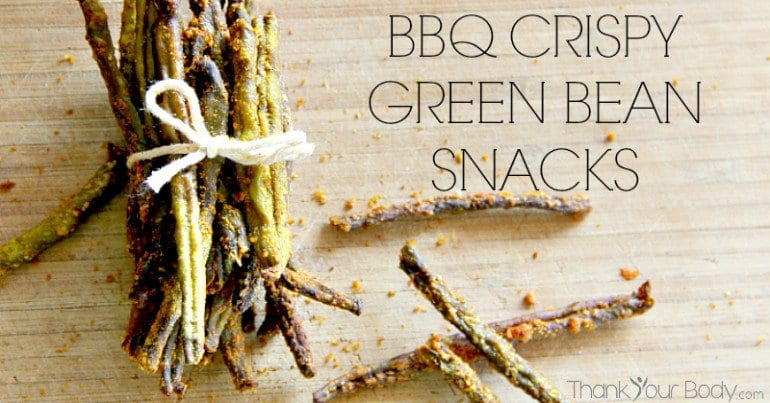 Recipe: BBQ Flavor Crispy Green Bean Snacks