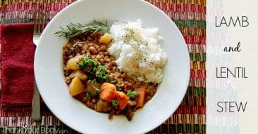Recipe: Lamb and Lentil Stew