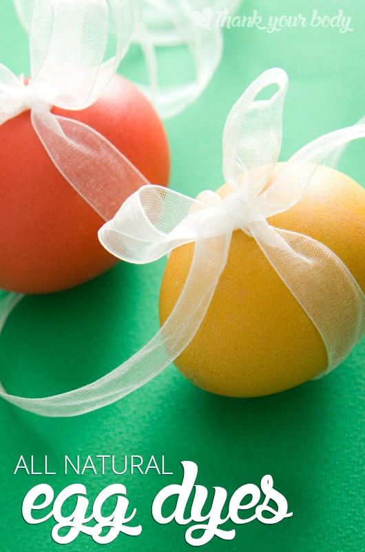Check out these awesome all natural egg dyes to make beautiful, non-toxic Easter eggs!
